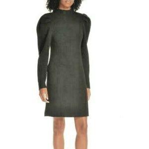 Sandro Androsace Wool Sweater Dress Sz 40 L NEW